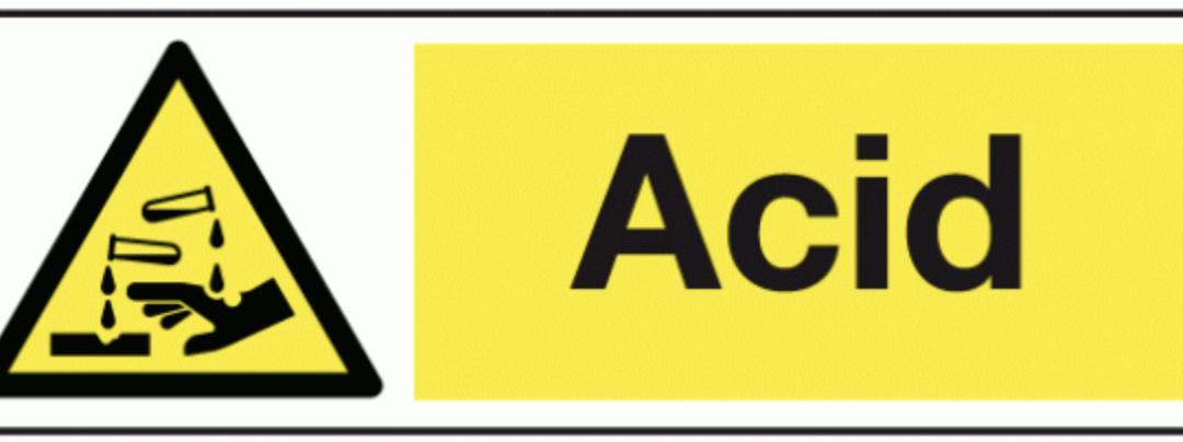 Acid attacks – a new phenomenon?